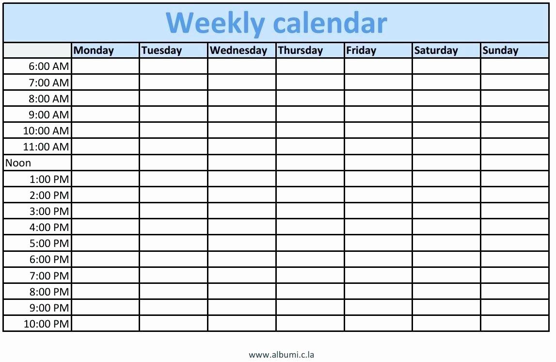 Calendar Sign Up Sheet Printable Time Slot Sign Up Sheet Template throughout Calendar With Time Slots Template