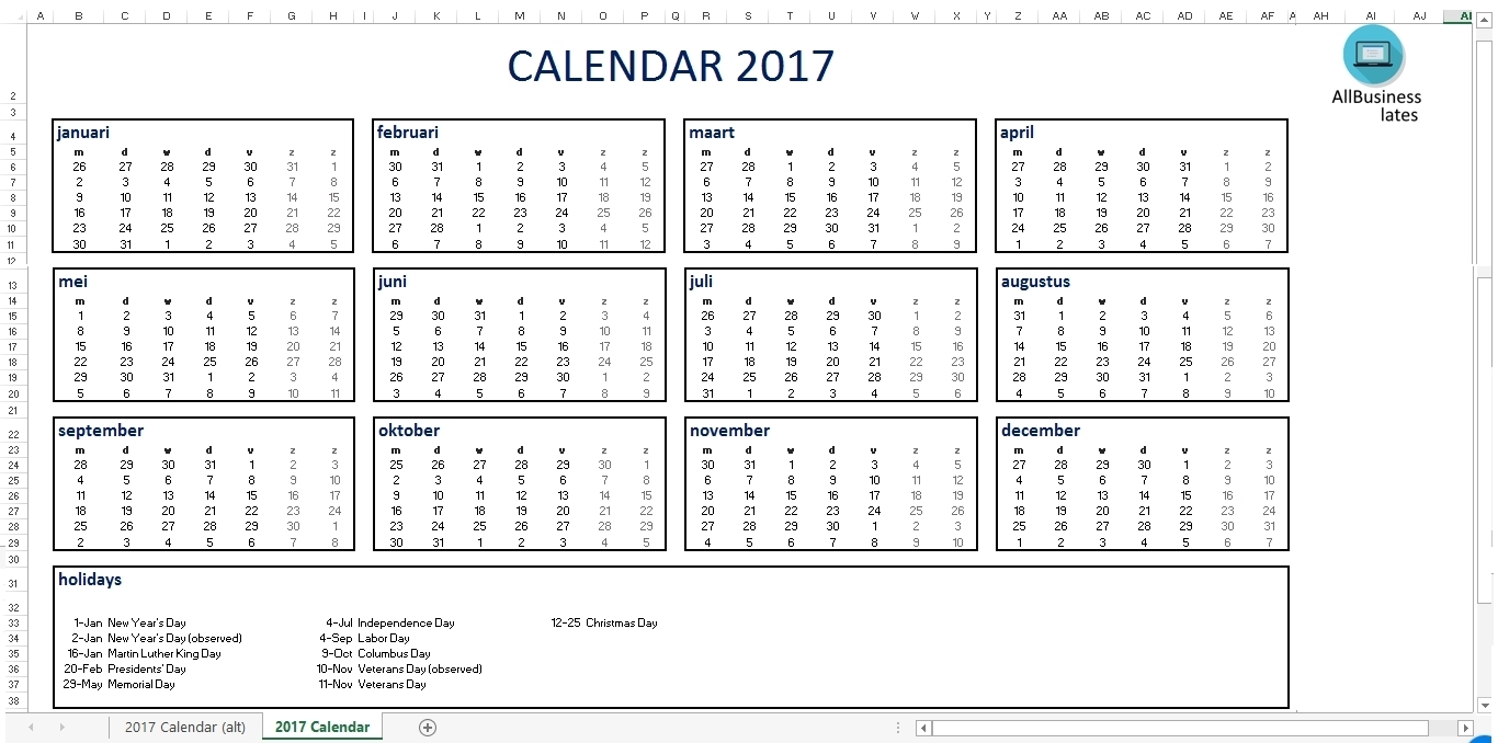 Calendar With Large Space For Notes In Excel | Template Calendar intended for Calendar With Large Space For Notes In Excel