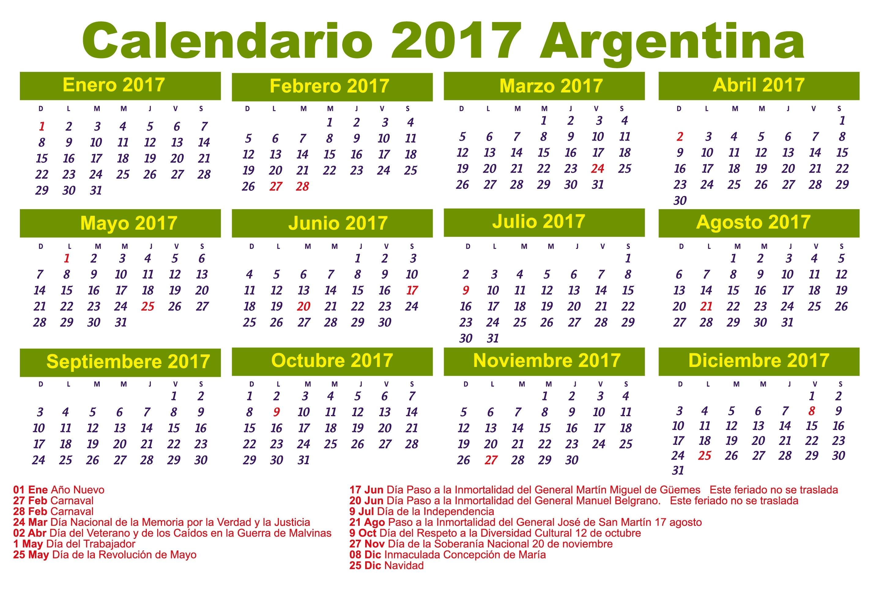 Calendario 2017 | Download 2019 Calendar Printable With Holidays List throughout Calendarios 17 Feriados En Chile