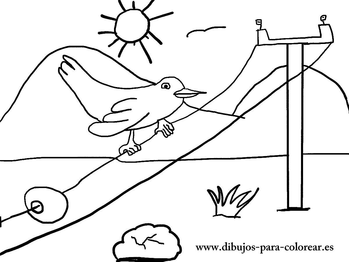 Campo   Dibujos Para Colorear - Part 3 for Dibujos De Campos Sin Pintar De Preecolar
