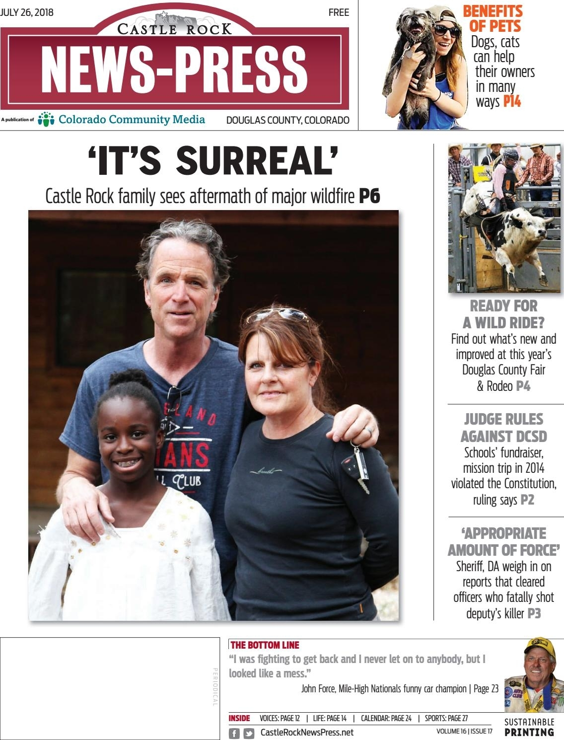 Castle Rock News Press 0726Colorado Community Media - Issuu in Free Monthly Calendar Erin Huff