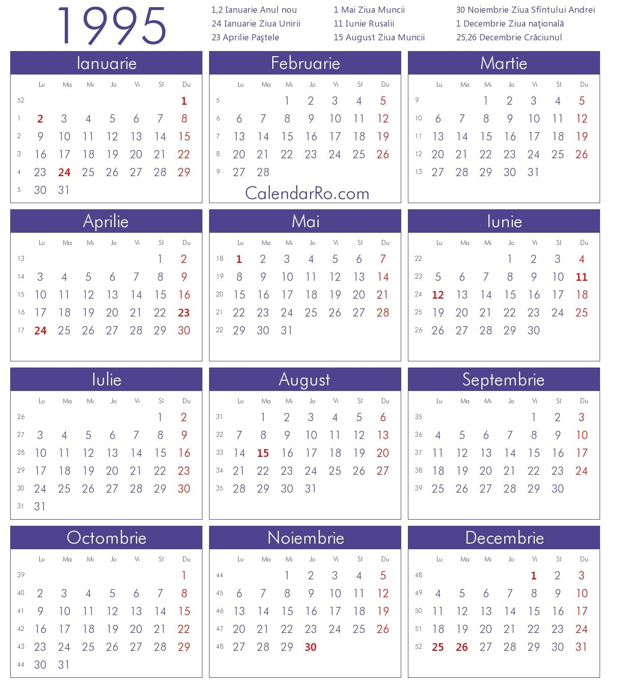 Category: Calendar 13 | Thegioithamdep with regard to Calendar Of 1995 April With Festival