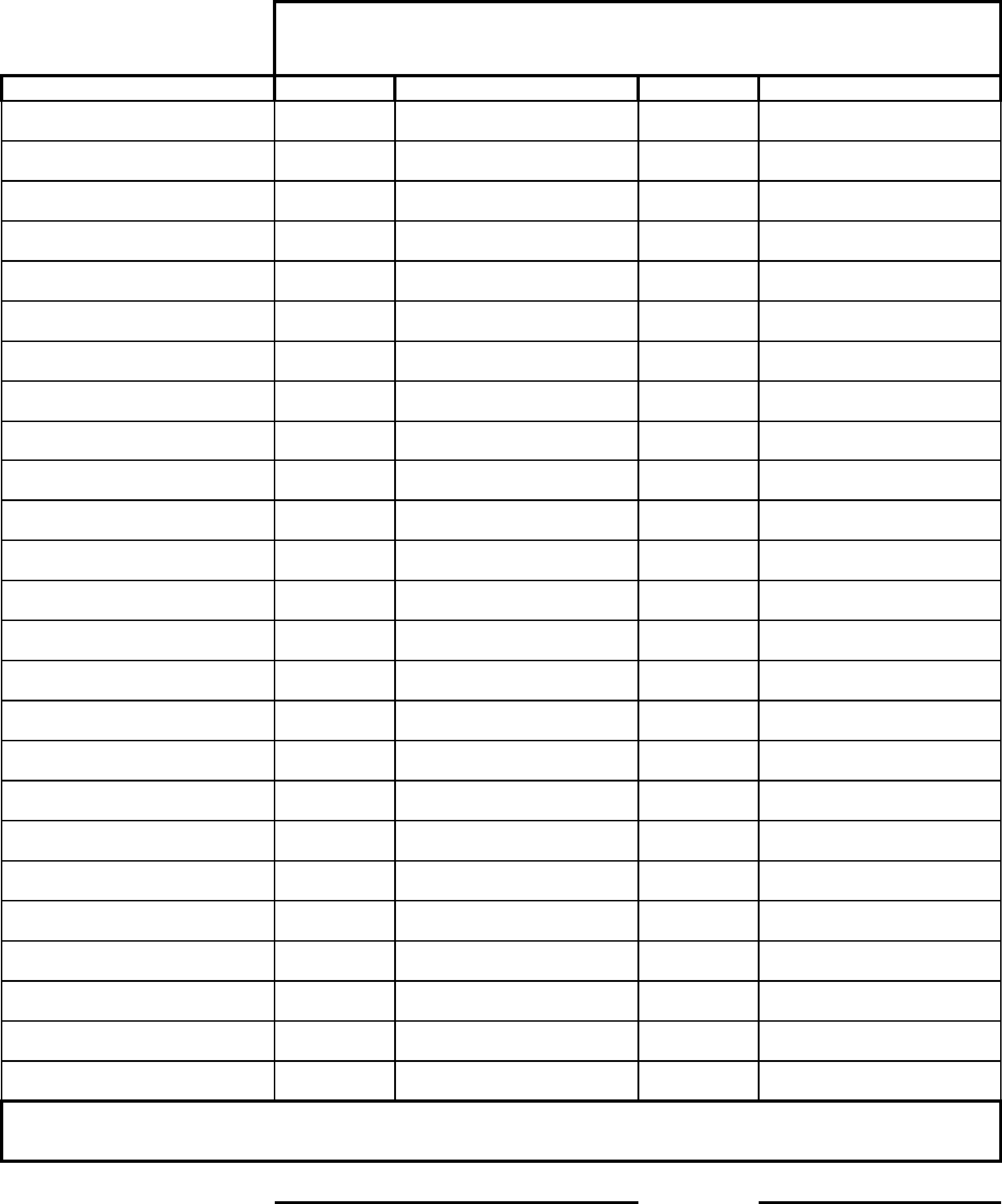 Children Daily Attendance Sheet Free Download intended for Day Care Attendance Sheet Template