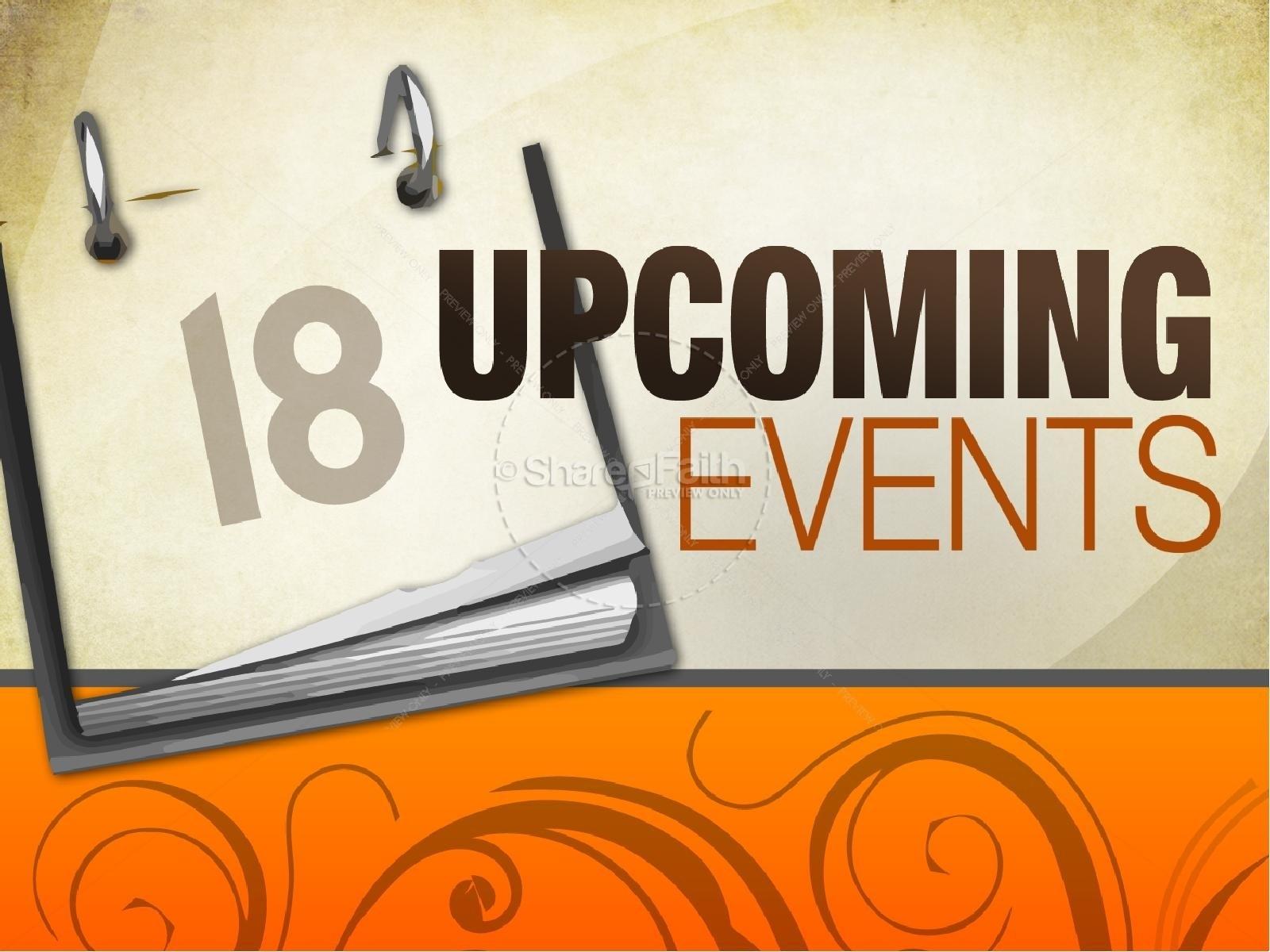 Church Calendar Powerpoint Template | Powerpoint Sermons pertaining to Church Calendar Of Events Template