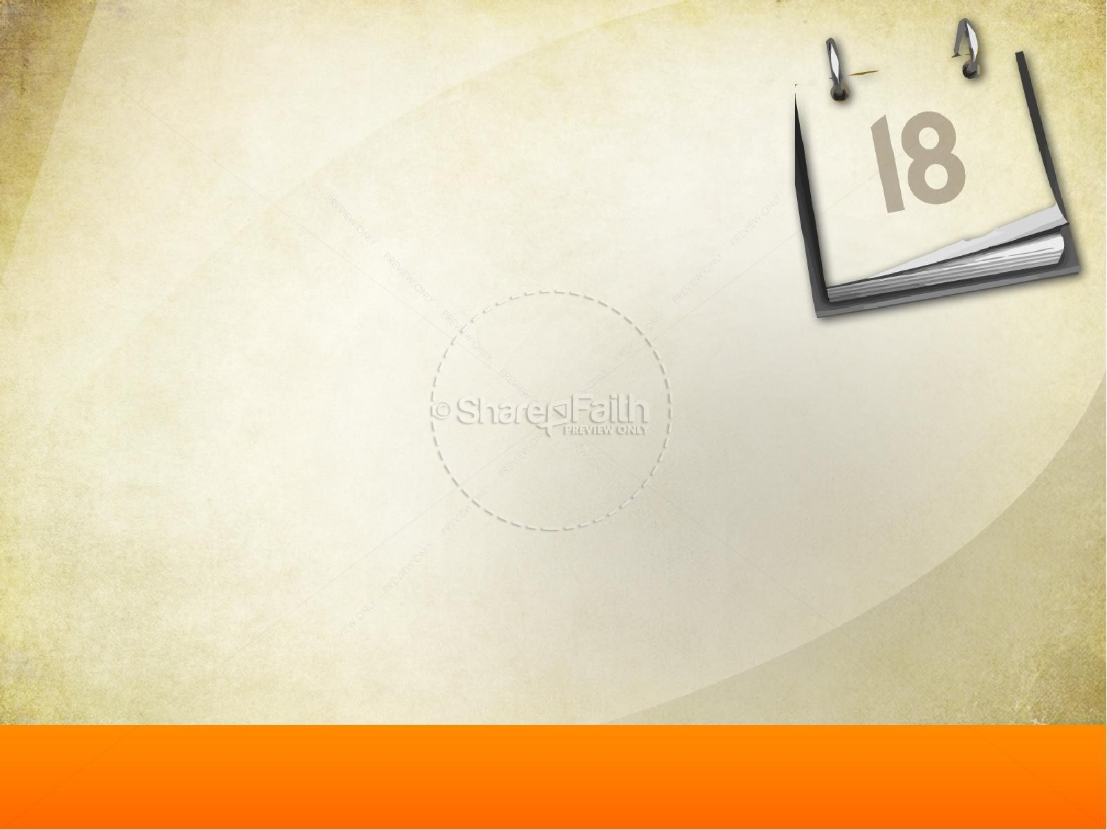 Church Calendar Powerpoint Template | Powerpoint Sermons regarding Church Calendar Of Events Template
