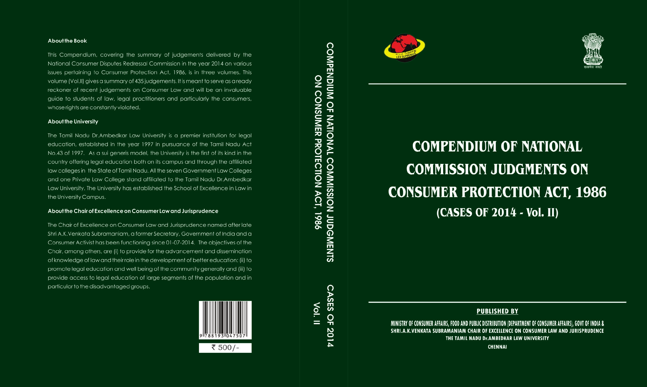Compendium Of Of National Commission Judgments On Consumer intended for Babu Lal Chaturbedi Calendar 1987