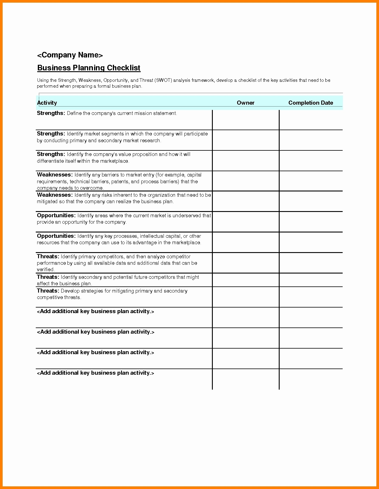 Corporate Event Planning Checklist Template | Template Calendar inside Corporate Event Planning Checklist Template
