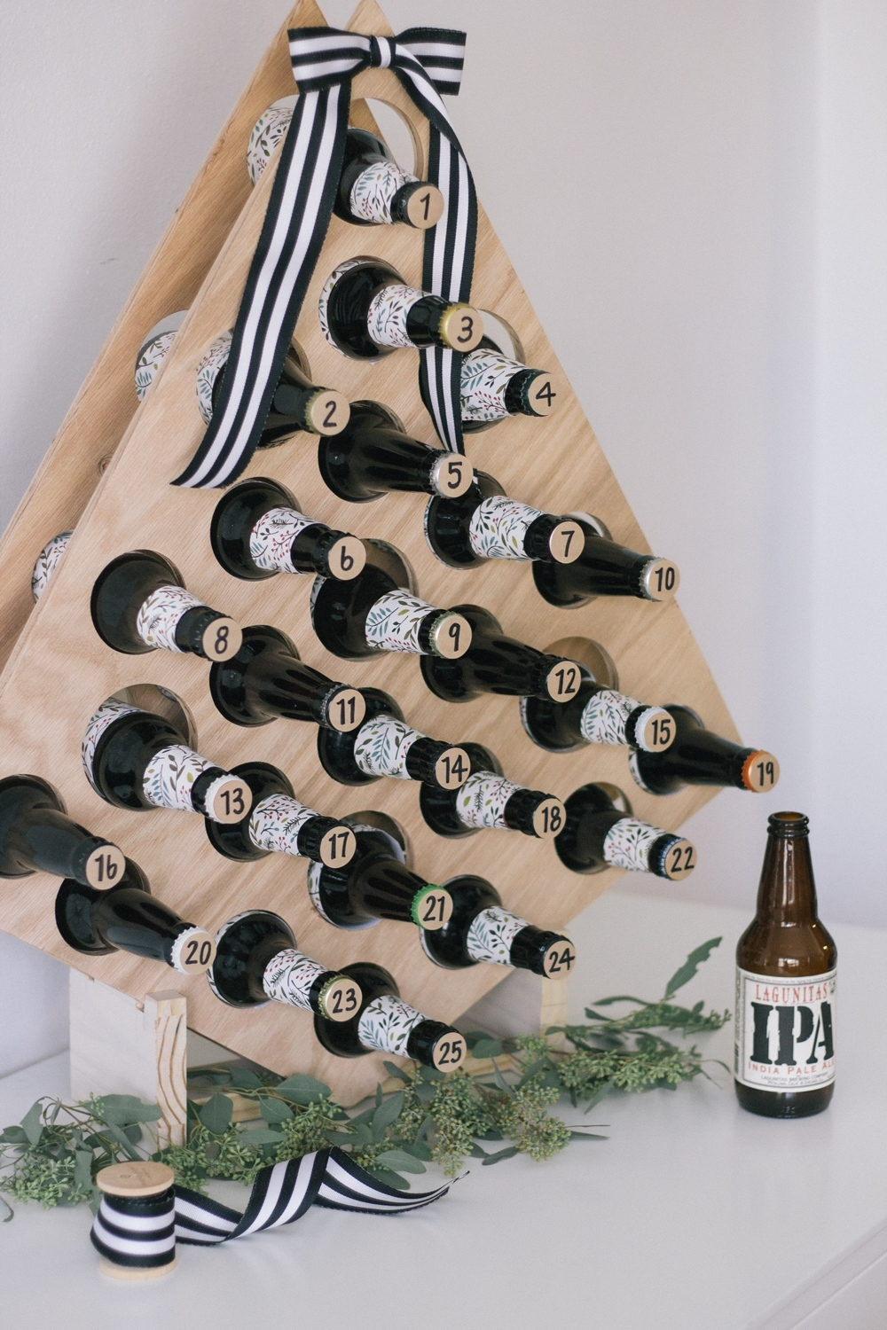 Craft Beer Advent Calendar - Chinchilly & Co for Create An Advent Calender Wooden