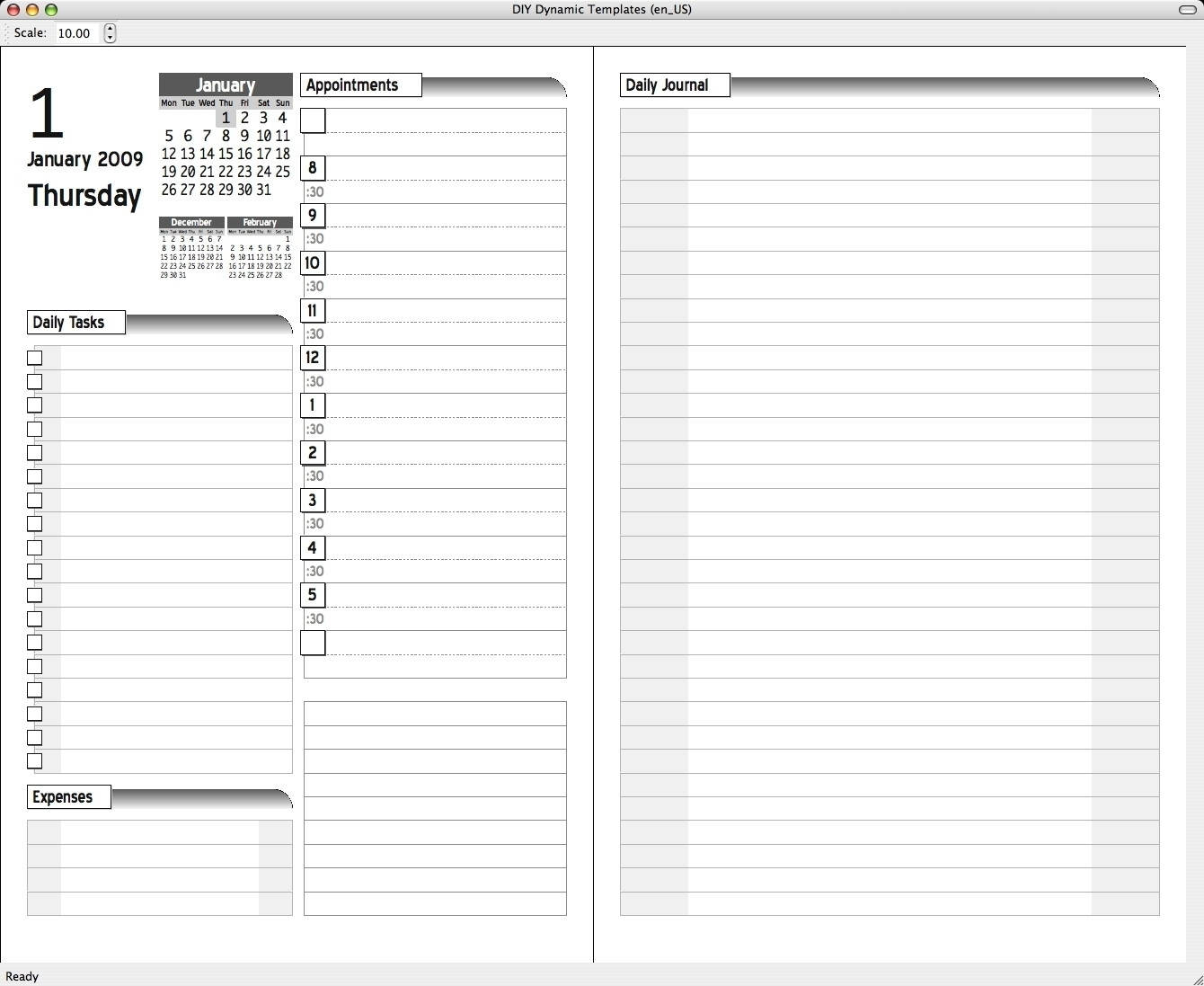 Daily Planner Pull From Outlook | Template Calendar Printable with Daily Planner Pull From Outlook