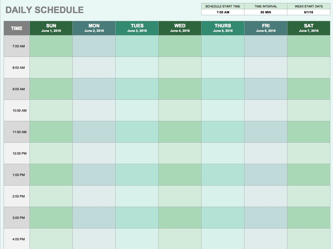 Daily Schedule - Cocu.seattlebaby.co with Catholic Daily Planner Template Printable Free