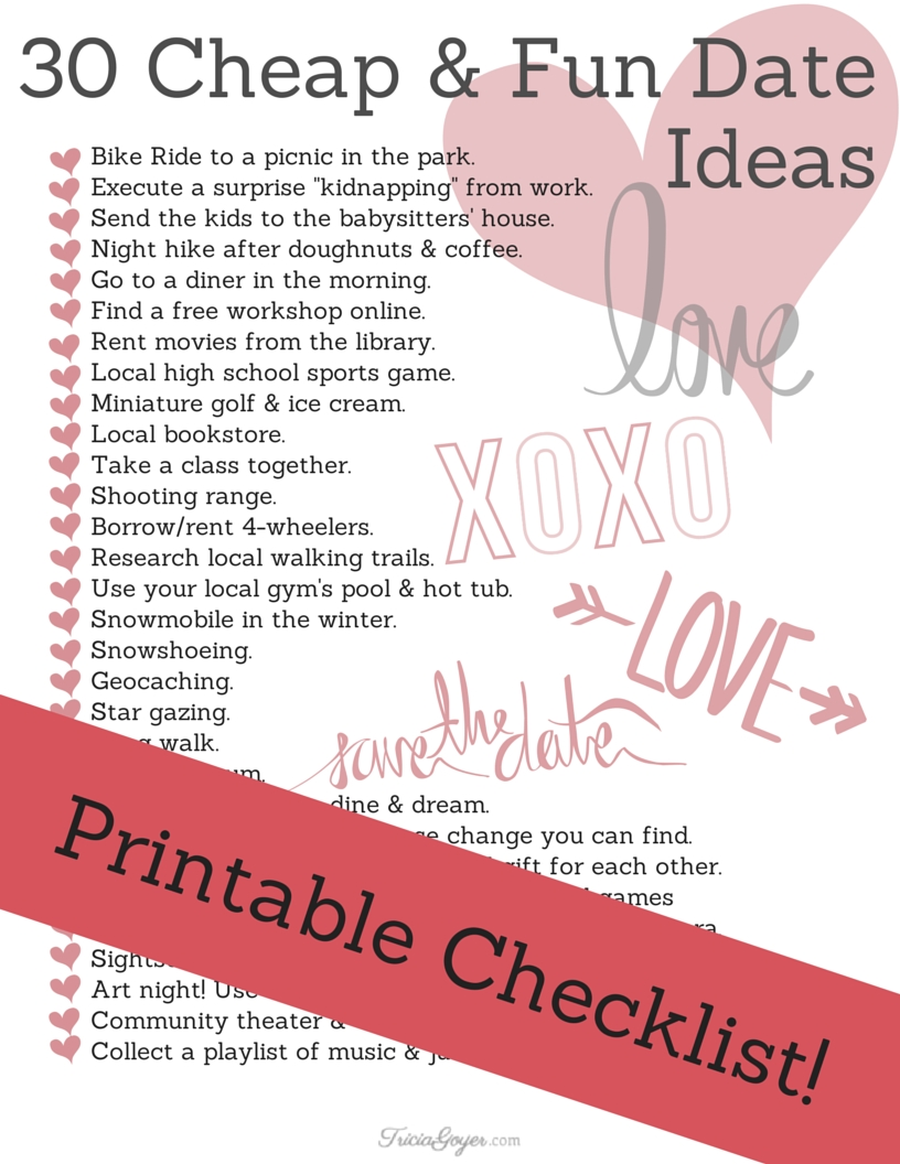 Date Night Coupons Ideas / Coupons 30 Off throughout Planning Date Night Checklist Template