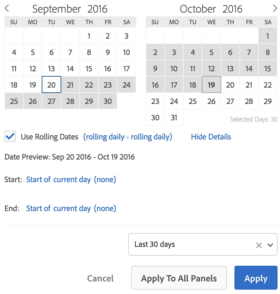 Date Ranges - Getting Started With Analytics inside Calendar With All The Years