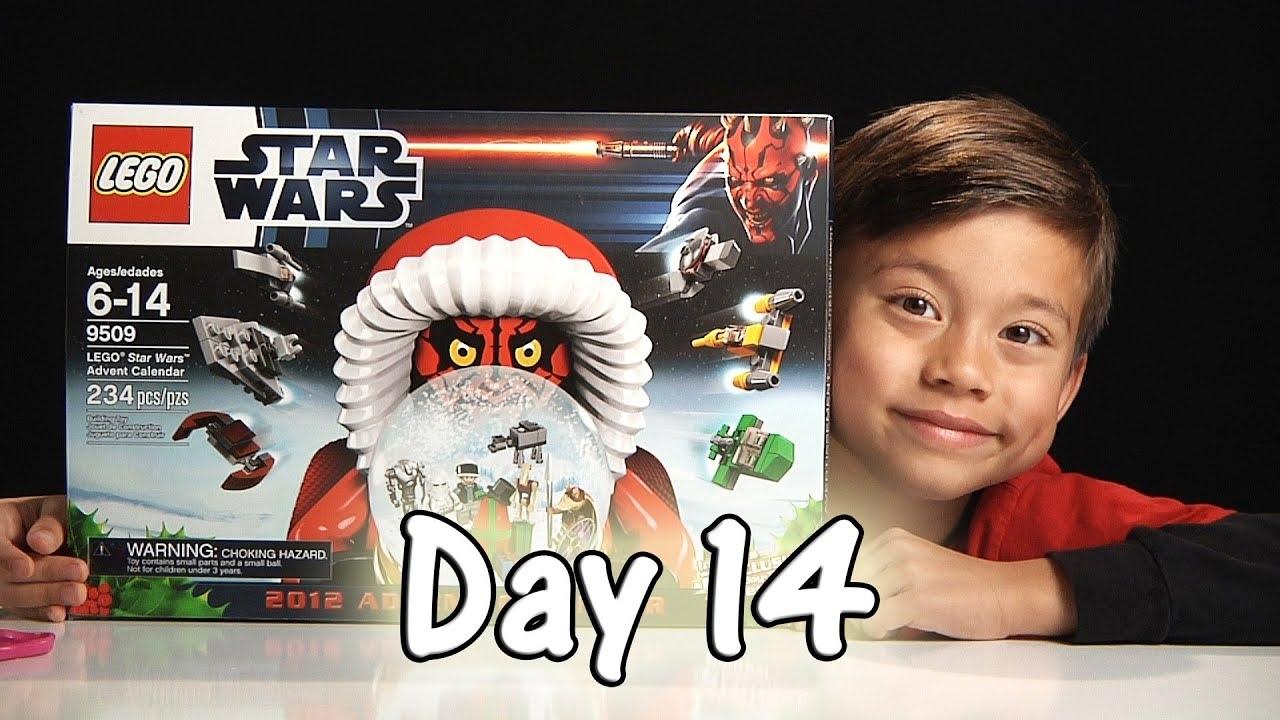 Day 14 Lego Star Wars Advent Calendar Review Set 9509 - 2012 - Stop with Lego Star Wars Advent Calendar Code