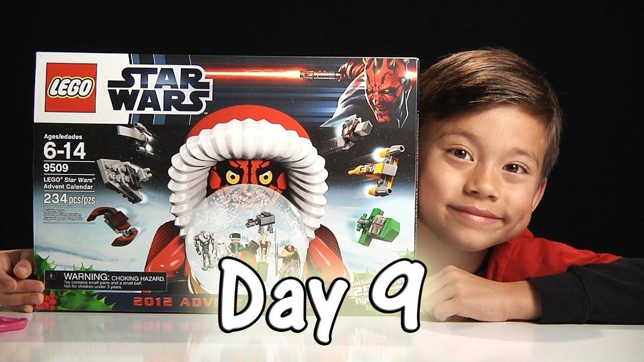 Day 9 Lego Star Wars Advent Calendar Review Set 9509 - 2012 - Stop inside Star Wars Lego Sets Codes