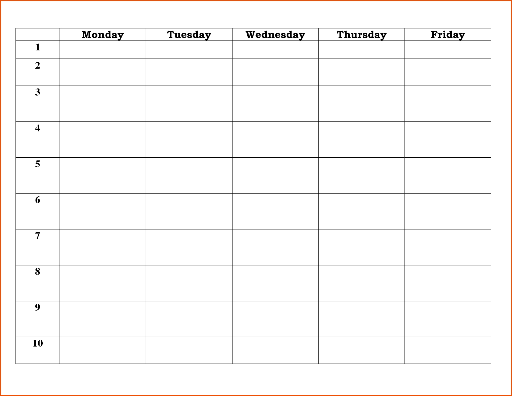 Day Schedule Template.23408790Memo Templates Word | Memo with regard to 5 Day Weekly Schedule Template