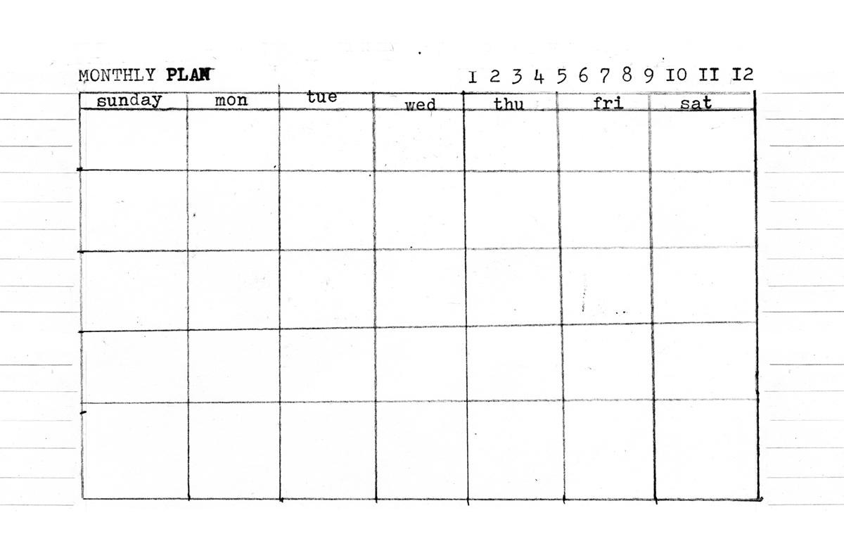 Day, Week, Month – 5.5 X 8.5 Templates   Amanda Hawkins   Ahhh Design in 10 X 8 Planner Template