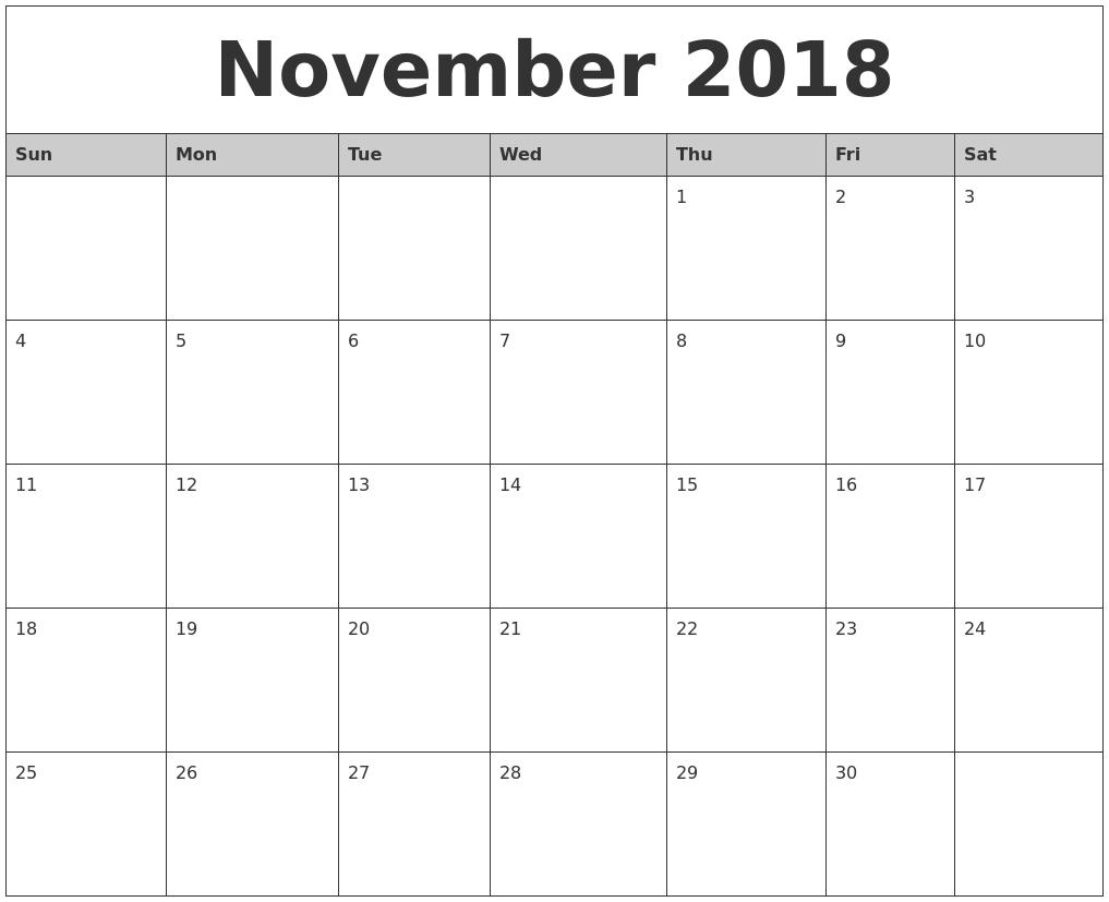 December 2018 Calendar Excel regarding Blank Calendar Mon Through Fri With No Dates Or Month