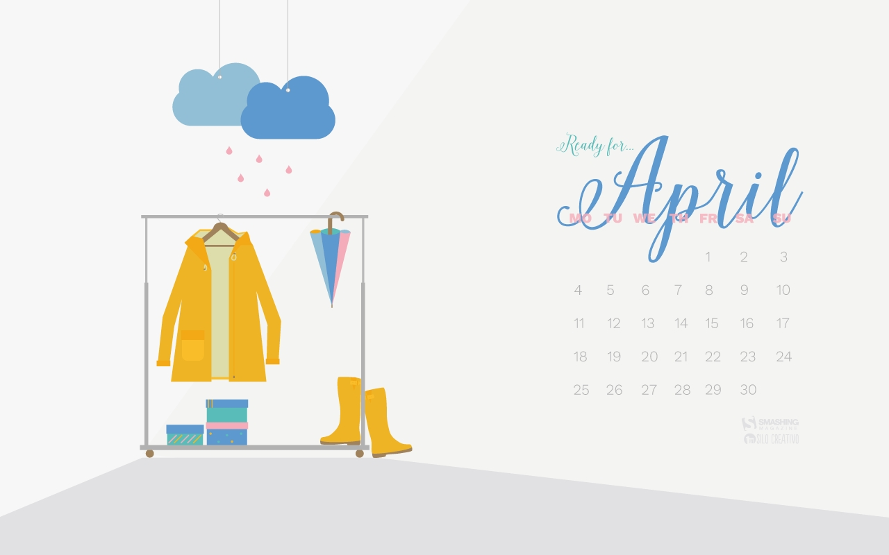 Desktop Wallpaper Calendars: April 2016 — Smashing Magazine with regard to Calendars For January Background Designs