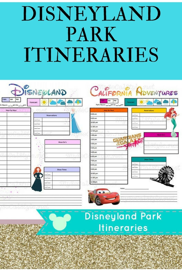 Disneyland Itinerary Template For Mac | Template Calendar Printable throughout Disneyland Itinerary Template For Mac