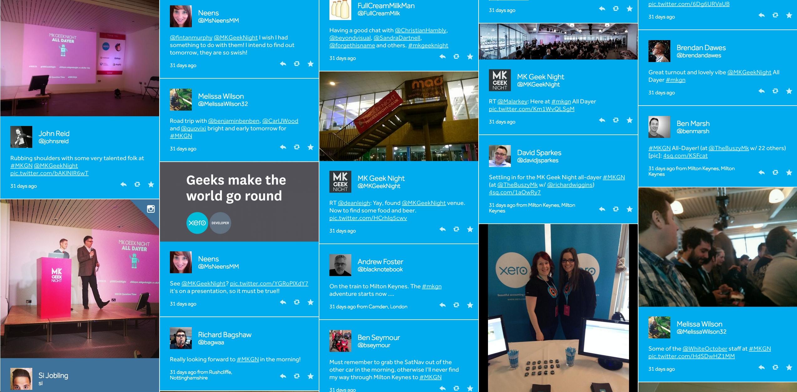 Dribbble - Social-Grid-Fullstuart Kennedy for Grid Of 31 Days Image