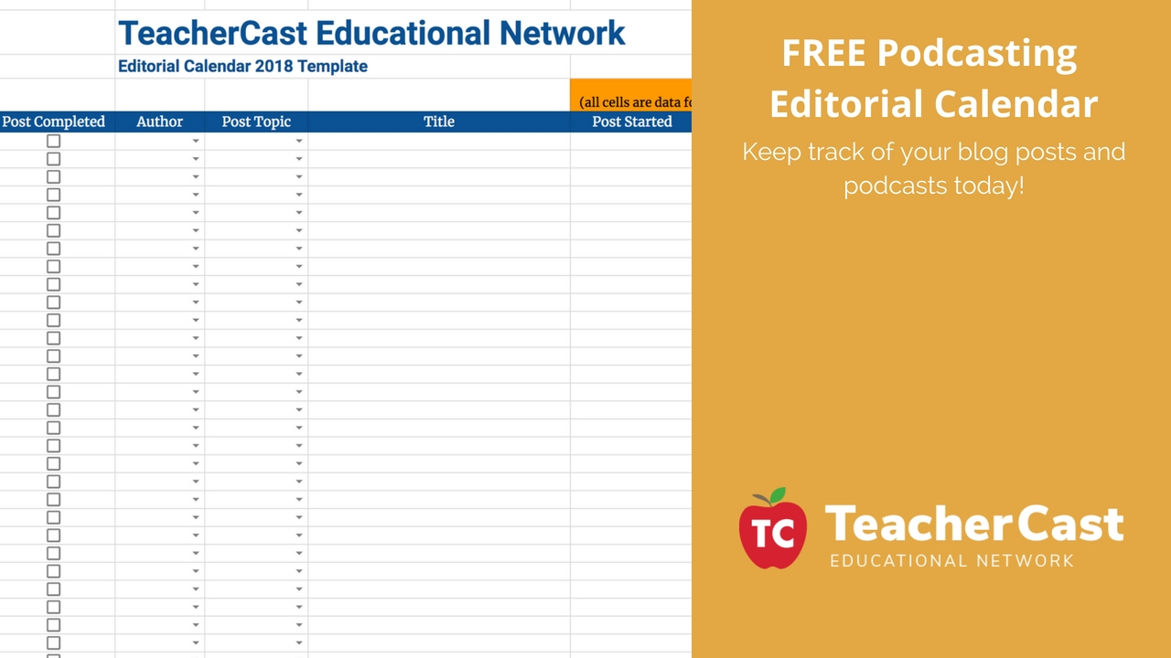 Editorial Calendar: Download Our Free Template Today! within Calenders And To Keep Up Withstuff