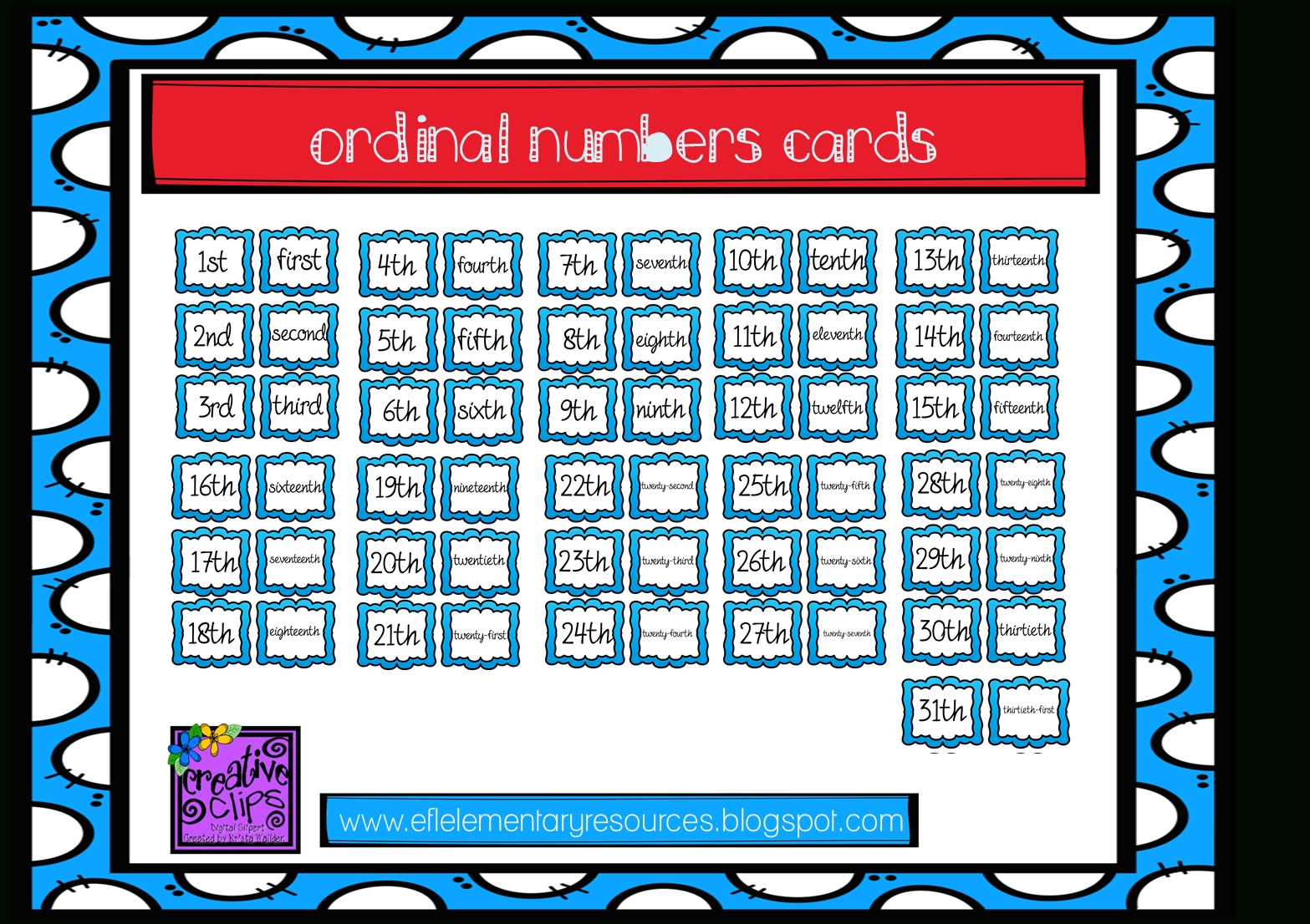 Efl Elementary Teachers: Calendar: Days And Months regarding Numbers Days Of The Month