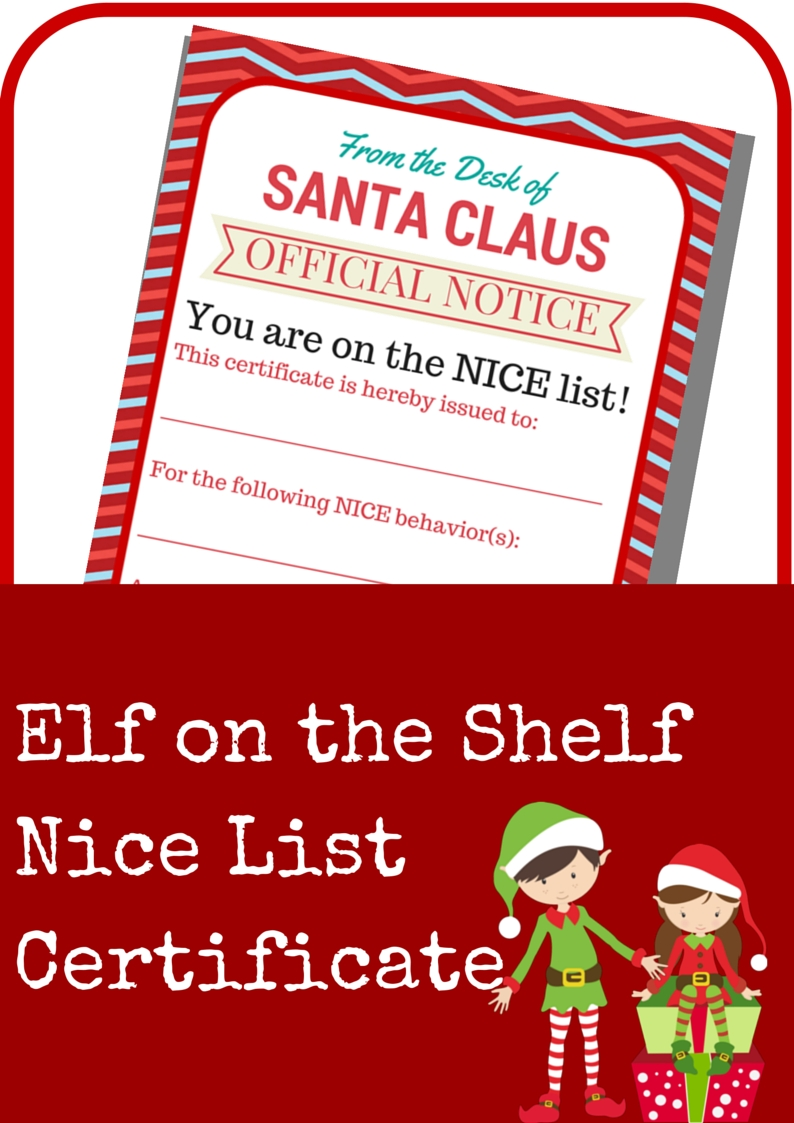 Elf On The Shelf Naughty Warning Letter - A Grande Life with 12 Month Photo Calendar Ideas Naughty
