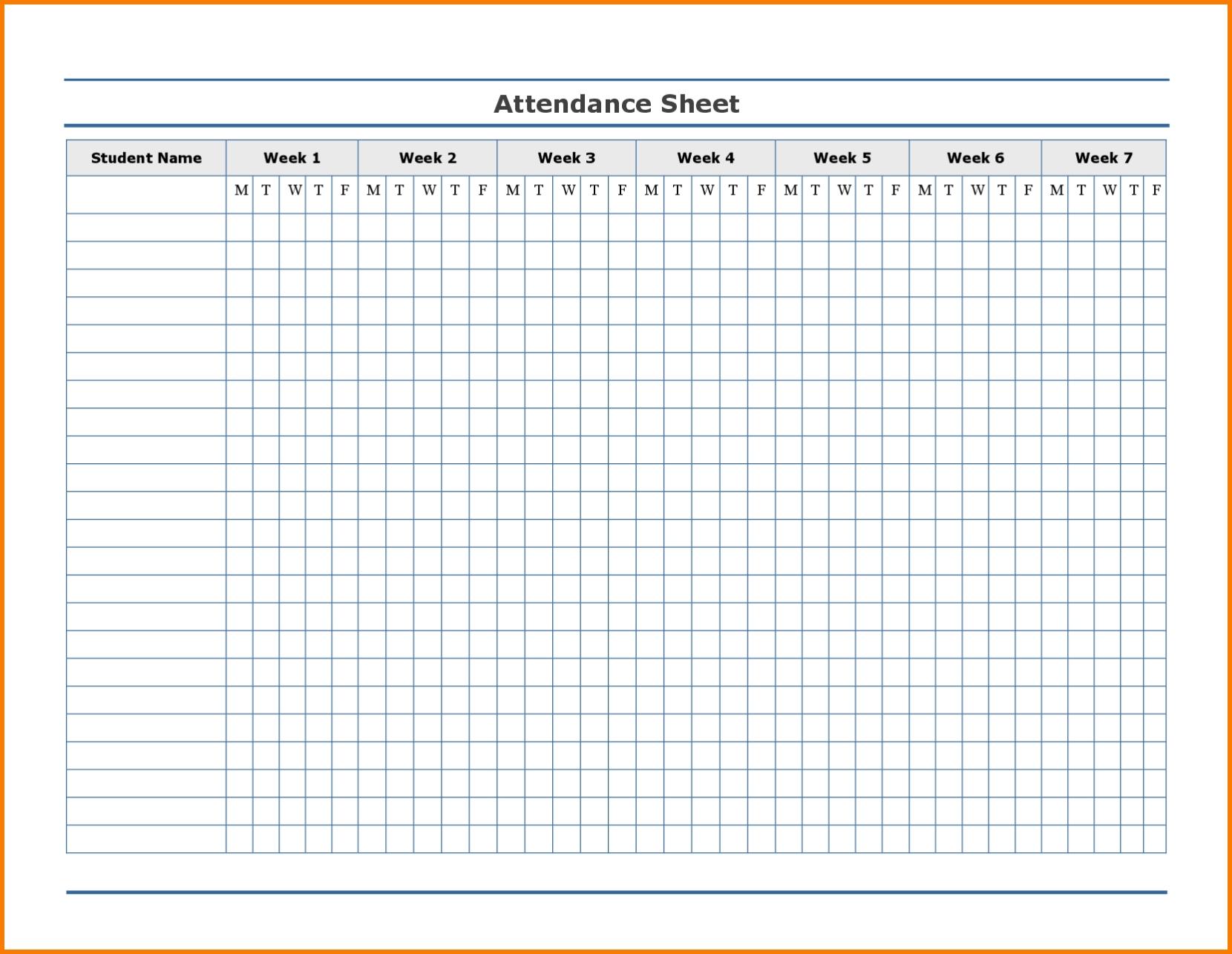 Employee Attendance Excel Sheet | Employee Attendance Sheet throughout Blank Employee Attendance Calendar Monthly