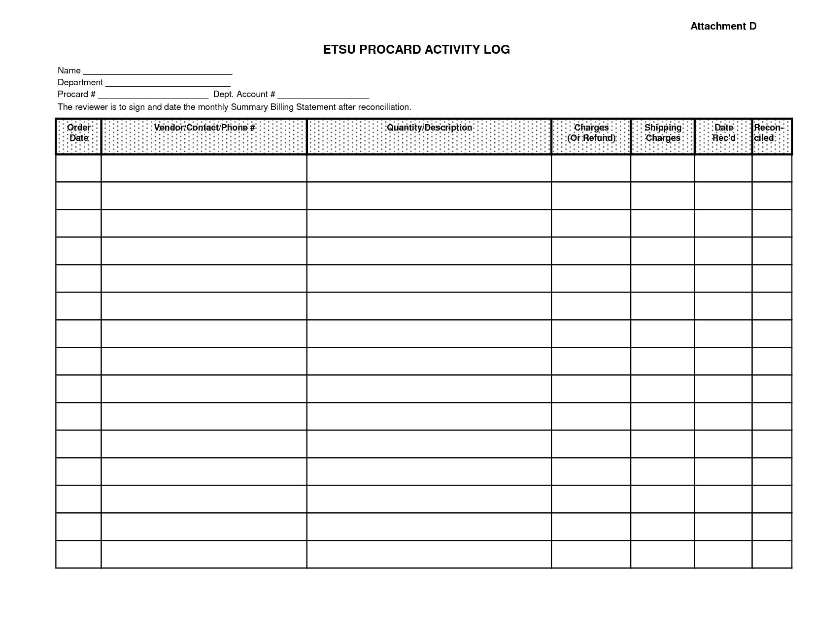 Excellent Monthly Bill Organizer And Spending Activity Log Excel pertaining to Blank Monthly Bill Payments Worksheet