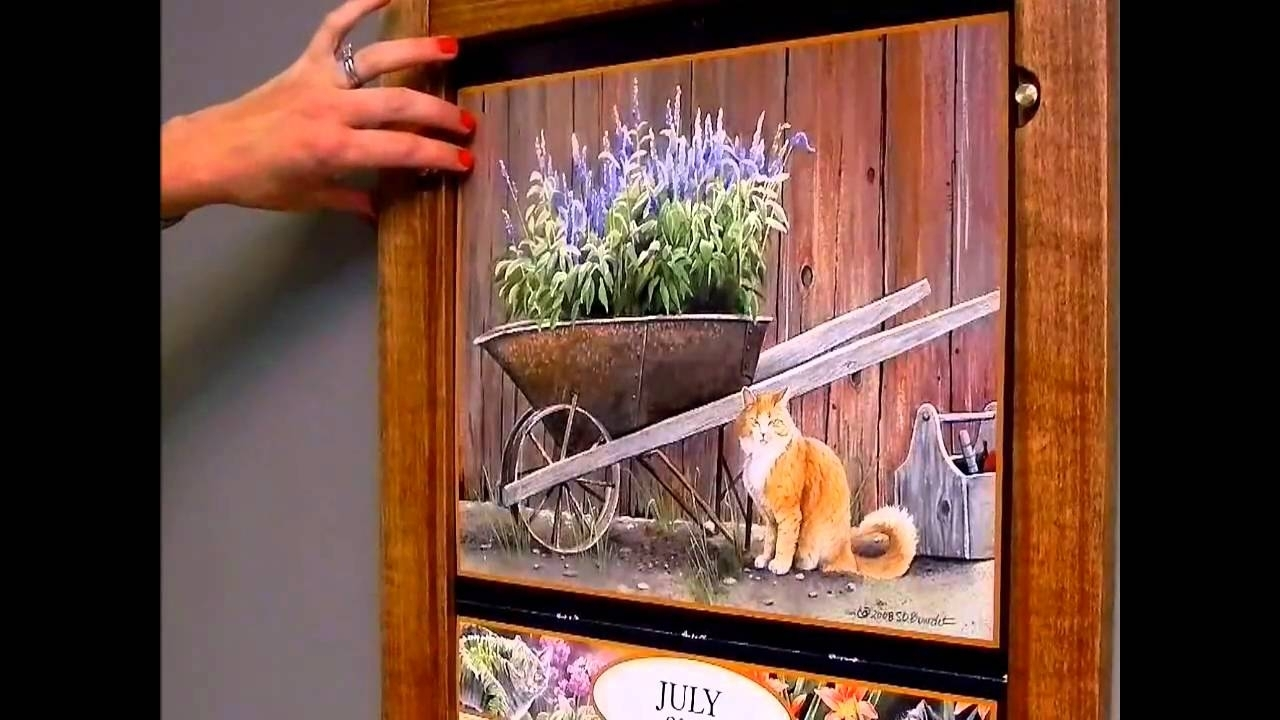 Fabulous Picture Frame Calendar @vg09 – Roccommunity with regard to Wall Calendar Frames And Holders