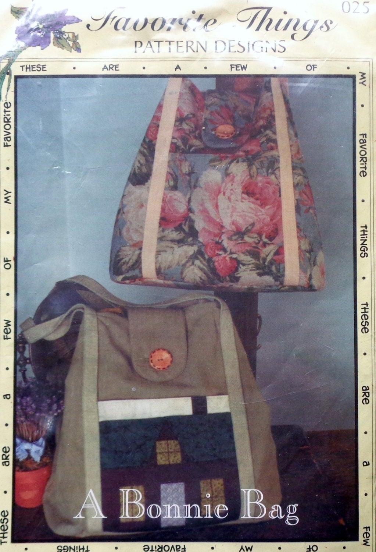 Favorite Things Pattern Designs A Bonnie Bagleslie Gladman | Etsy regarding A Few Of My Favorite Things Template