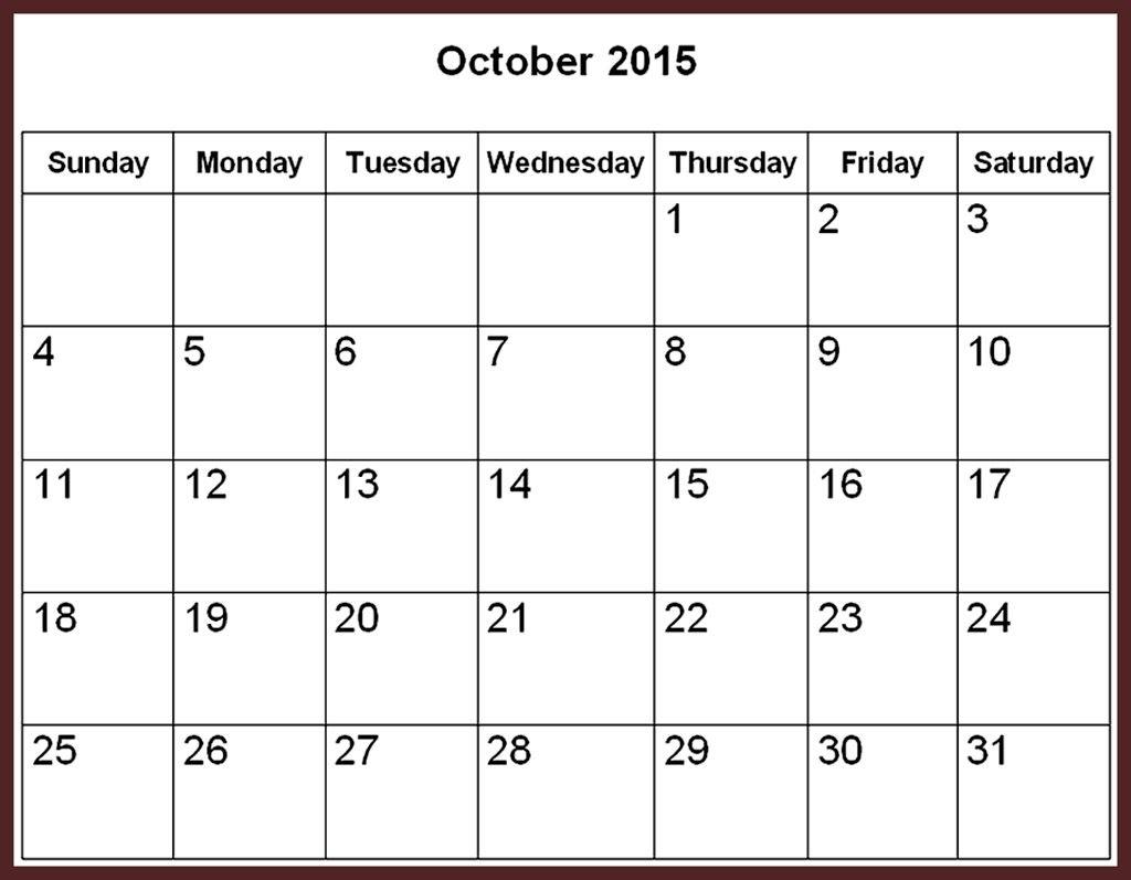 Fillable Monthly Calendar December 2015 | Calendar Format Example pertaining to Fillable Monthly Calendar December 2015