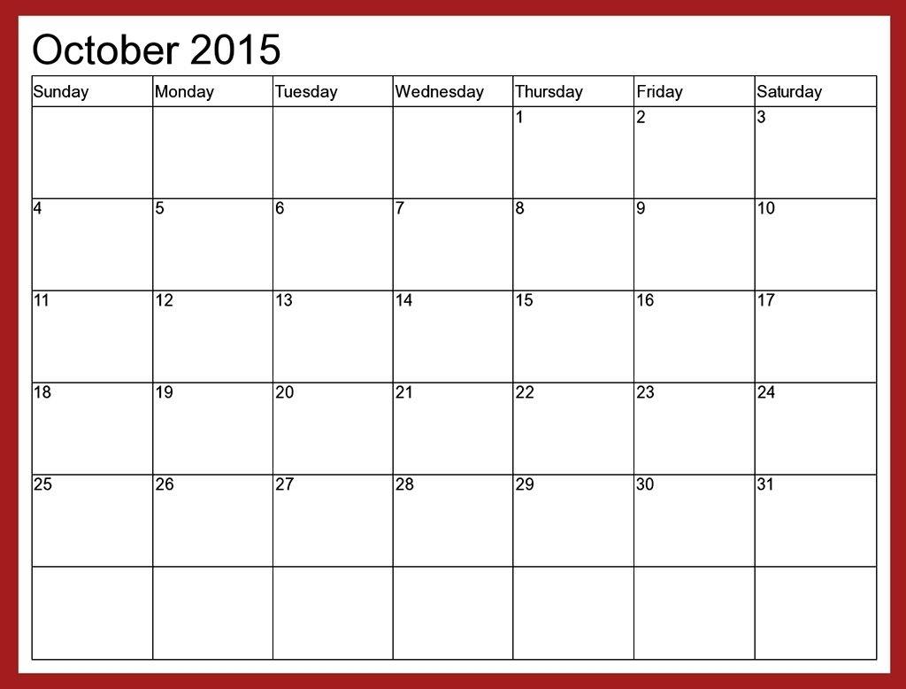Fillable Monthly Calendar December 2015 | Calendar Format Example with regard to Fillable Monthly Calendar December 2015