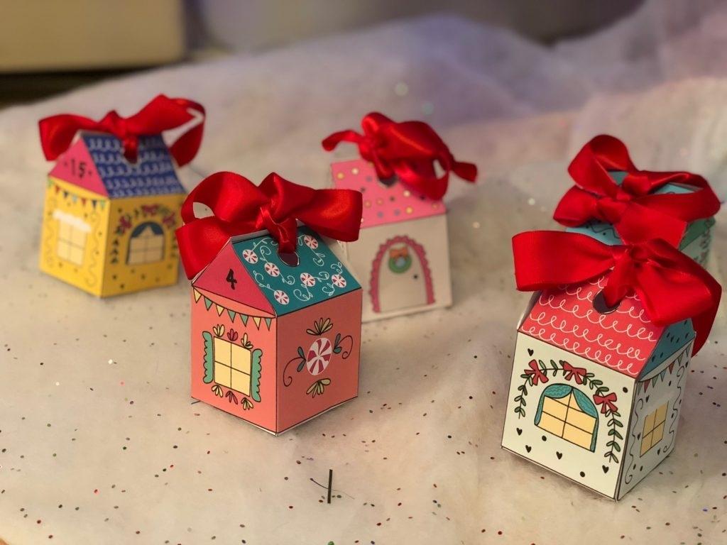 Free Advent Calendar Houses Printable File – Chicklink intended for Free Printable Advent Calendars Wallpaper