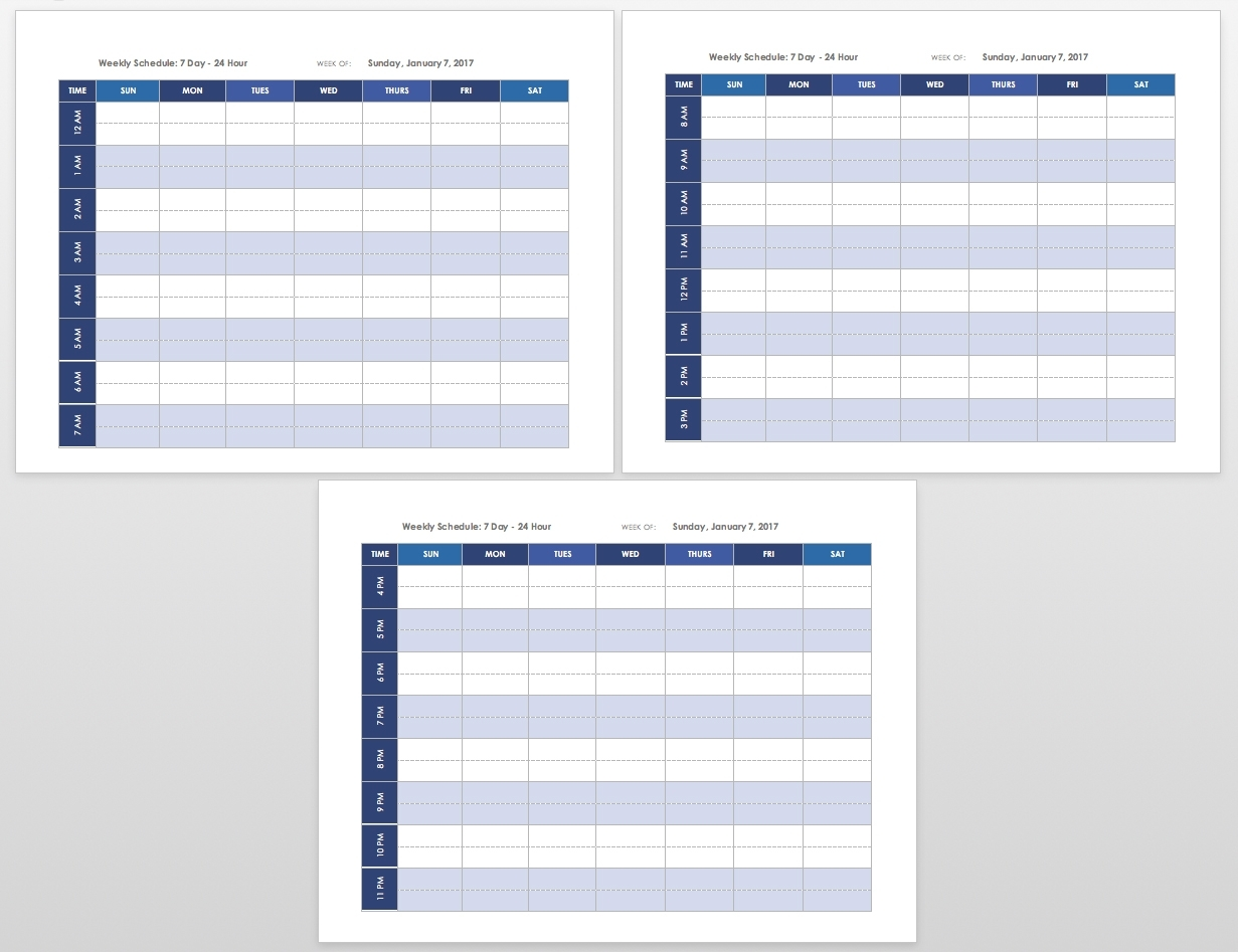 Free Blank Calendar Templates - Smartsheet for Empty Appointment Calendar One Month