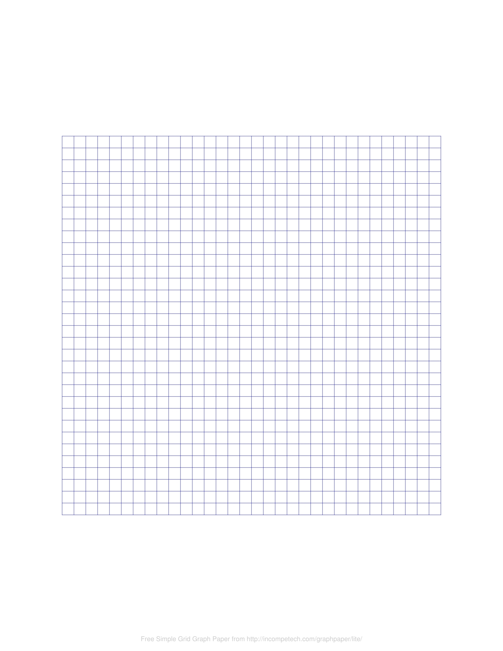 Free Online Graph Paper / Simple Grid intended for 12 X 30 Grid Png