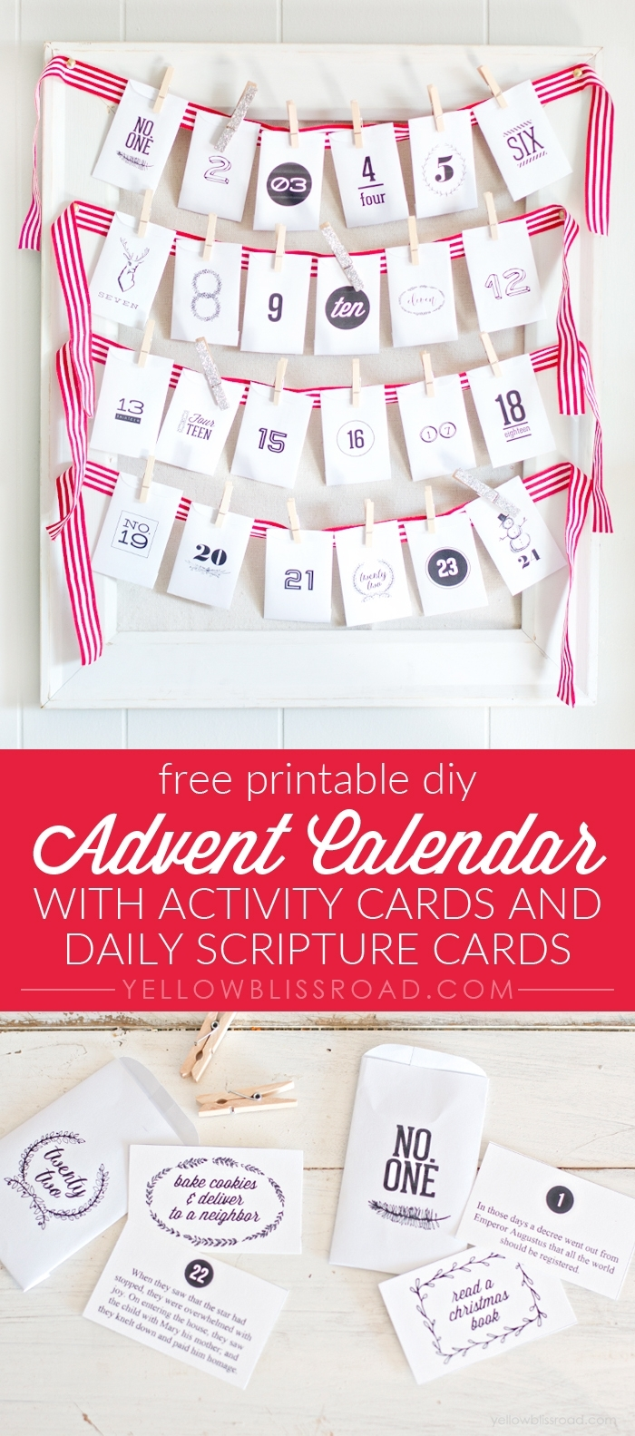 Free Printable Advent Calendar With Activity Ideas (Diy) inside Advent Calendar Gifts With Verses