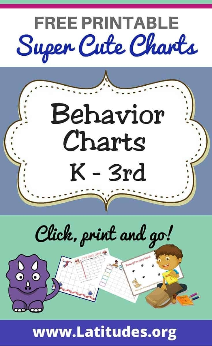 Free Printable Behavior Charts For Teachers & Students (Kindergarten within Conducut Chart For Play School