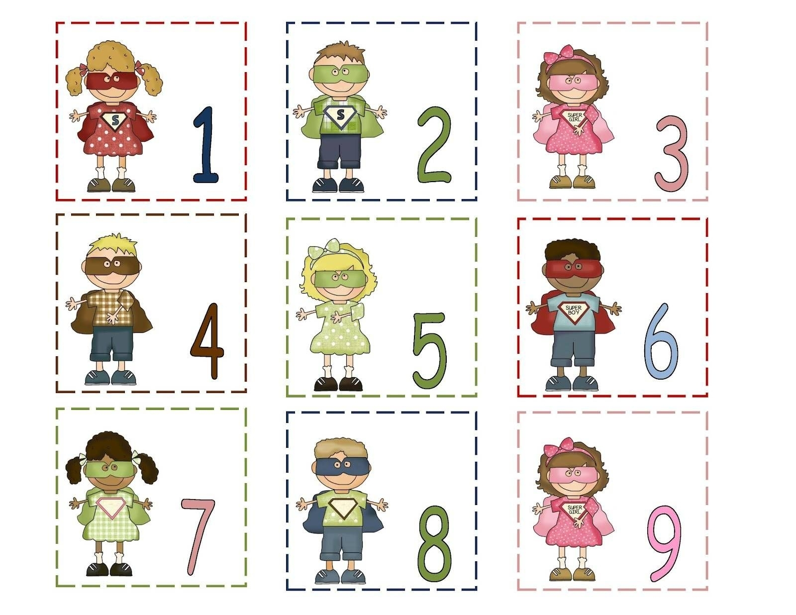 Free Printable Calendar Numbers 1-31 | 1 | Preschool Printables in Printable Preschool Numbers 1 31