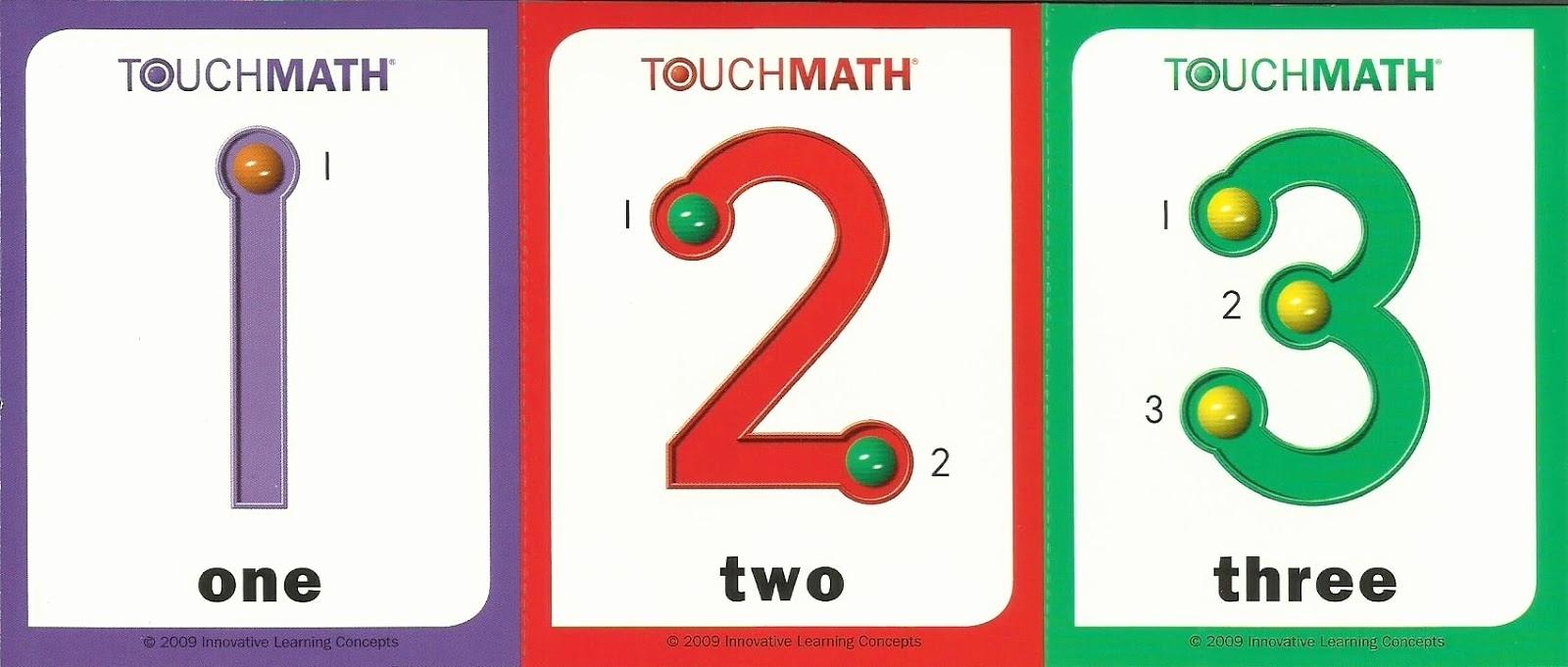 Free Printable Calendar Numbers 1-31 Pdf Free Printable Touch Math with Printable Numbers 1-31 For Calendar