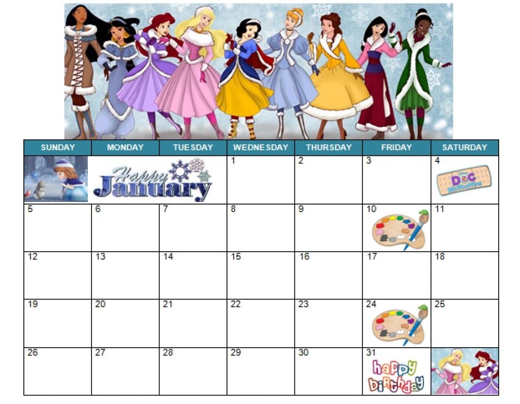 Free Printable Disney Calendars | Printable Calendar Templates 2019 within Disney Printable Calendars By Month