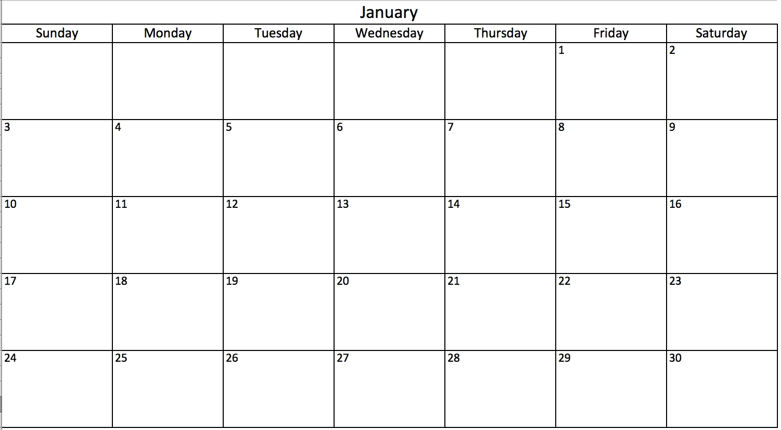 Free, Printable Excel Calendar Templates For 2019 & On | Smartsheet for Blank Time And Date Calendar
