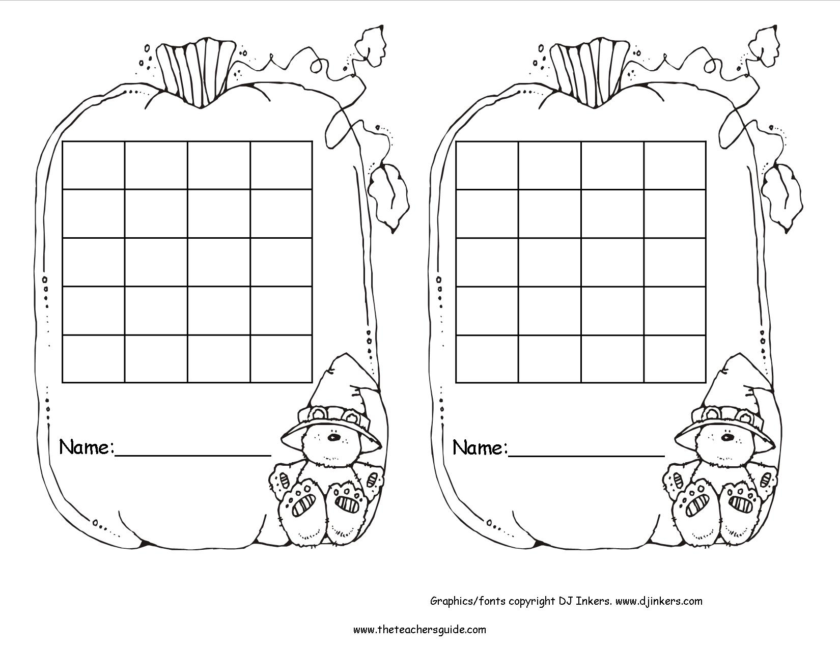 Free Printable Reward And Incentive Charts within Blank Behavior Charts For September