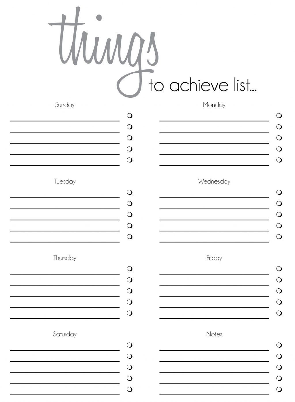 Free Printable To Do List Templates Latest Calendar Caregiver Daily with Free Printable Daily To Do Checklist Monday Through Friday