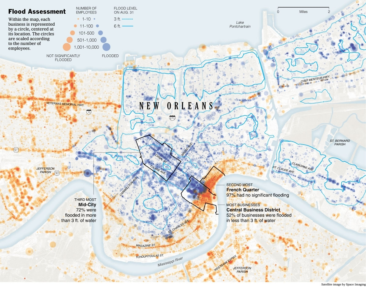 From The Graphics Archive: Mapping Katrina And Its Aftermath - The within Map Of Area Affected By Hurricane Katrina