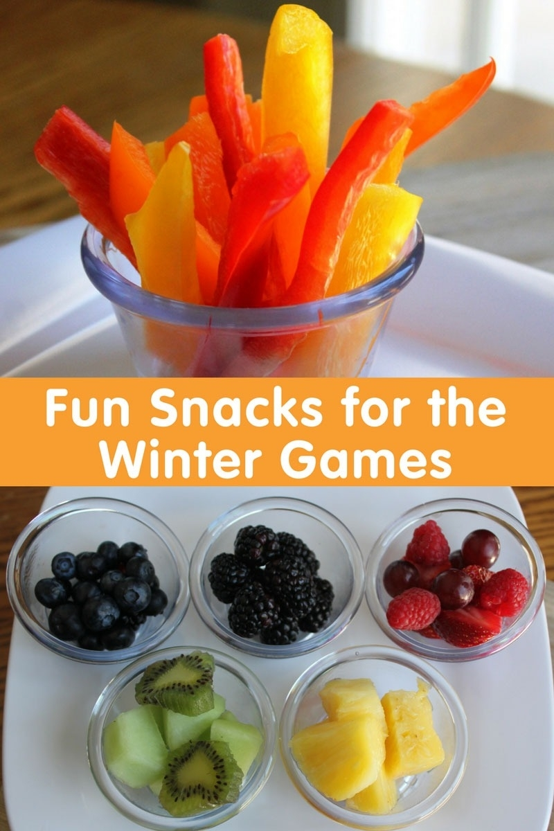 Fun Snacks For The Winter Games, Winter Olympics Snack Ideas with Fun Snack Ideas For Meetings