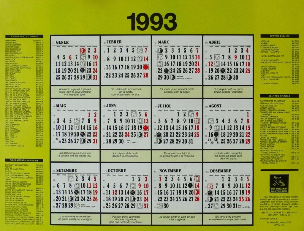 Gaco Publications Brilliant May 1993 Calendar | Thegioithamdep within 1993 Hindi Calendar By Tithi Patttra
