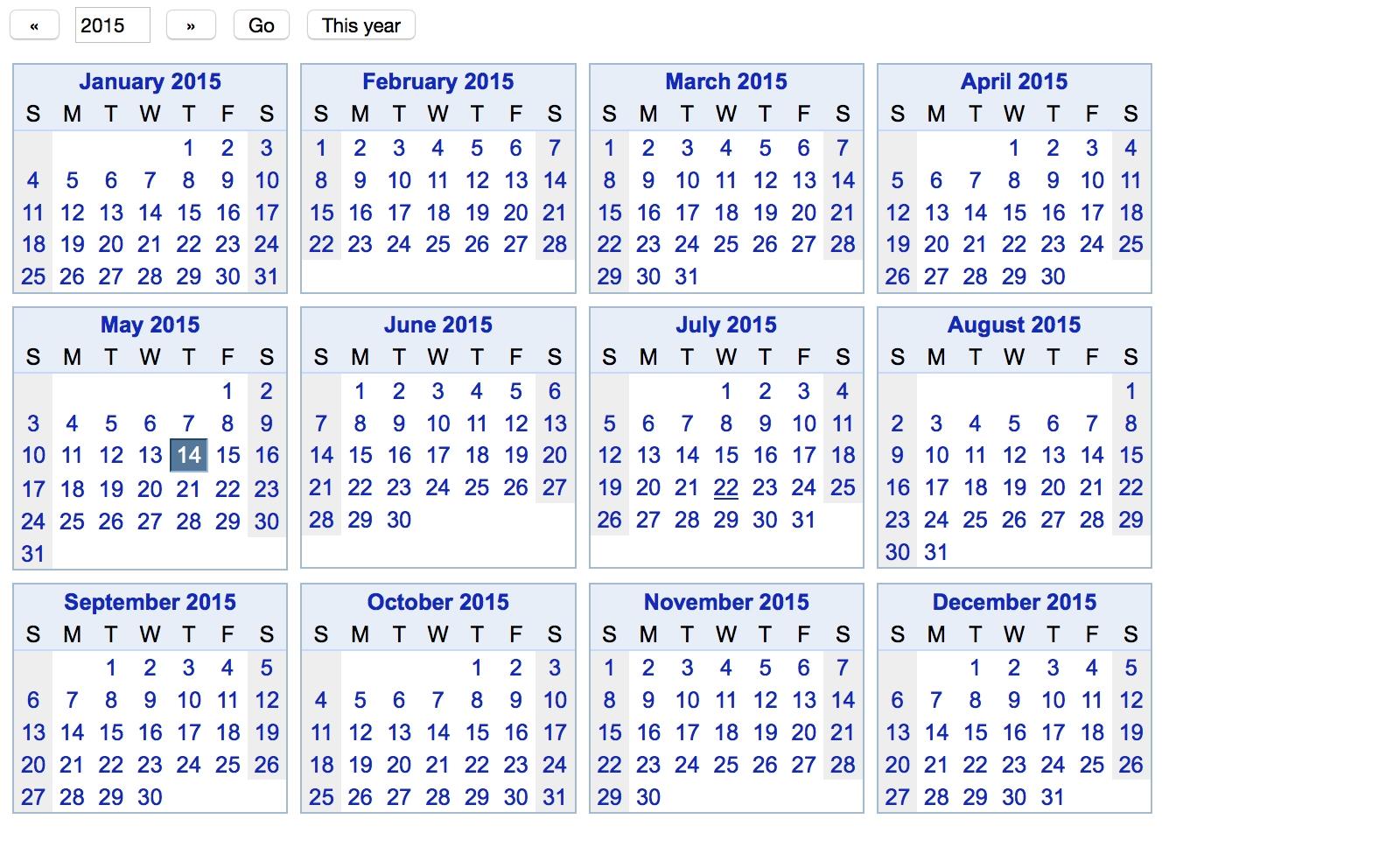 Ganttplanner Blog: Top 50 Tips For Google Calendar inside Year At A View Calendar