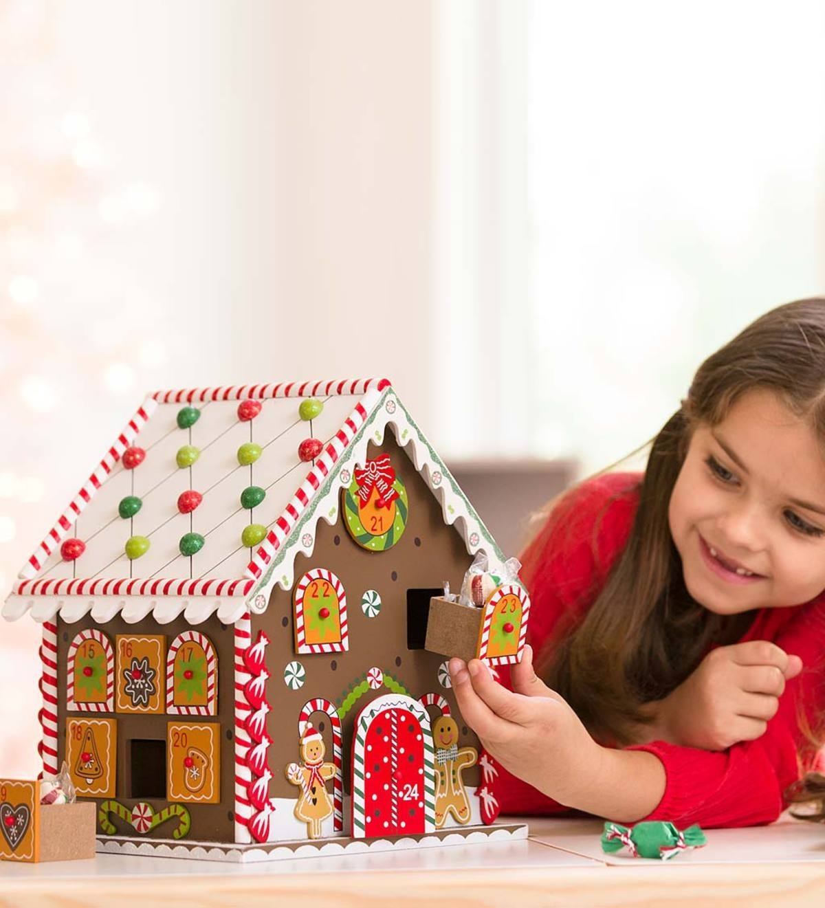 Gingerbread House Advent Calendar | Boys Gifts | Shoprecipient throughout Girls Advent Calendar With Gifts