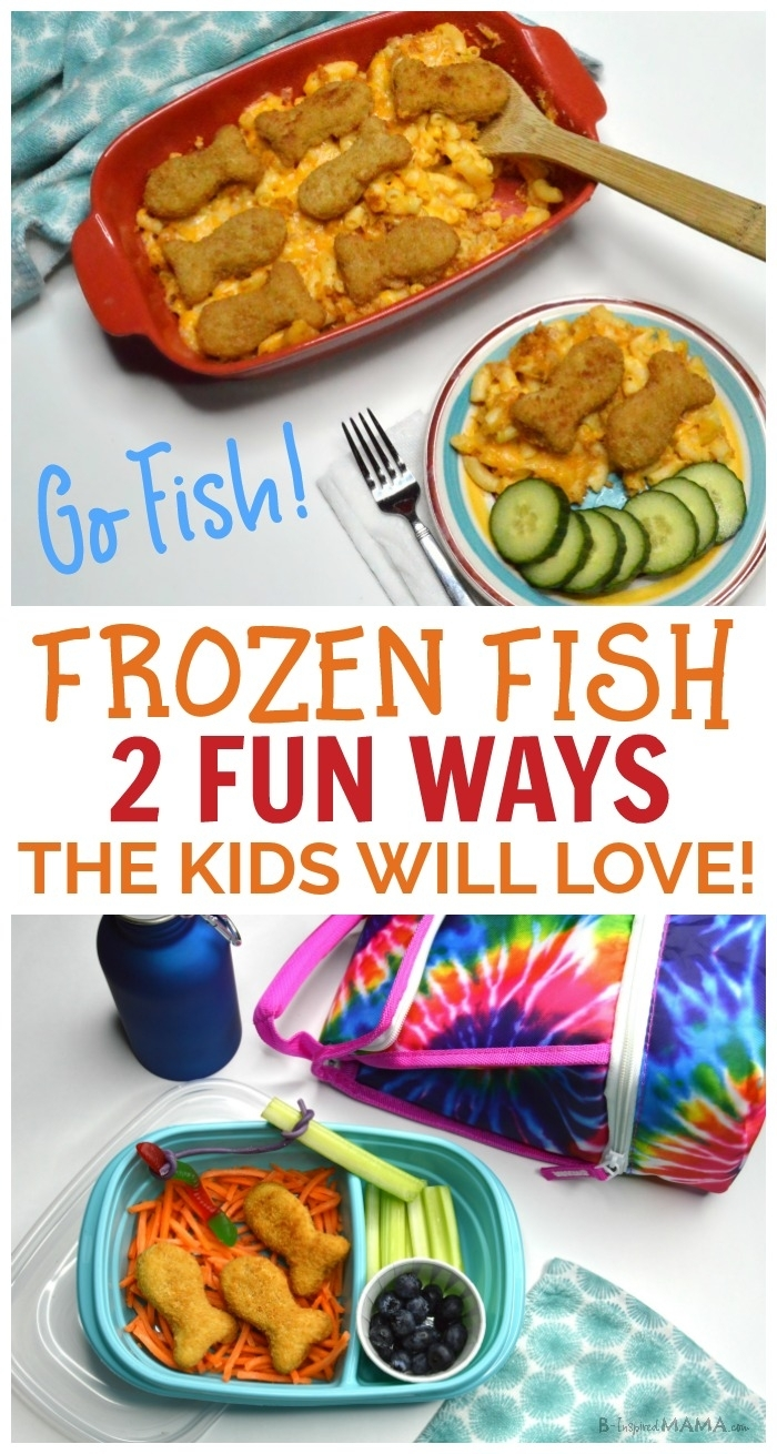 "Go Fish"" For An Easy Meal And Fun Lunch For Kids! within Fun Snack Ideas For Meetings"